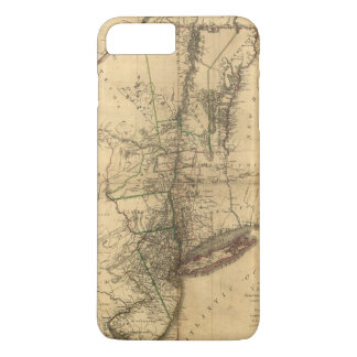 Map of the Province of New York by W. Faden (1776) iPhone 8 Plus/7 Plus Case