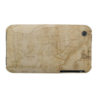 Map of the Southeastern part of North America, 172 Case-Mate iPhone 3 Case