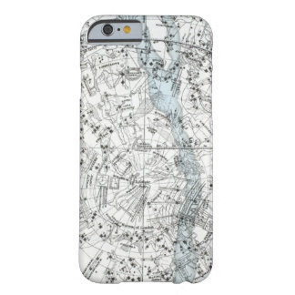 Map of The Southern Hemisphere Plate XXVIII Barely There iPhone 6 Case