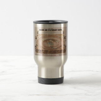 Map of the Square and Stationary Earth by Ferguson Travel Mug