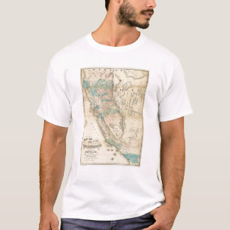 Map of the State of California T-Shirt