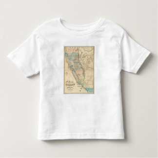 Map of the State of California Shirt