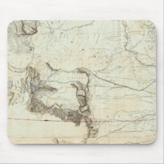 Map Of The Territory Of The United States Mouse Pad