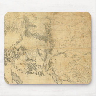 Map of The Territory of The United States Mouse Pads