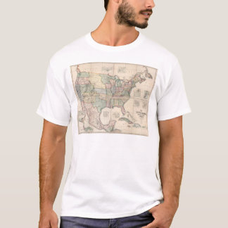 Map of The United States 3 T-Shirt