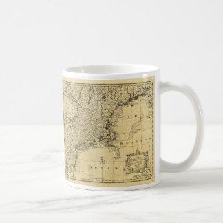 Map of the United States of America (1783) Basic White Mug