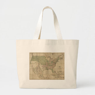 Map of the United States of America (1820) Jumbo Tote Bag