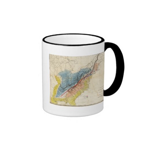Map of the United States of America 3 Coffee Mugs
