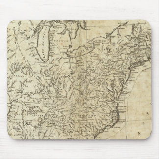 Map of the United States of America Mouse Pad