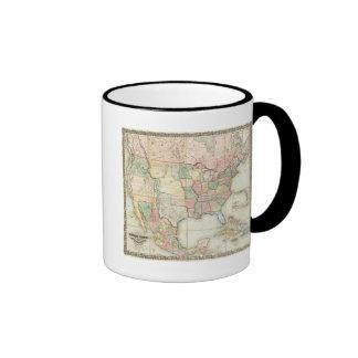 Map of The United States of America Coffee Mug