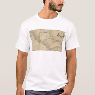 Map of the West Indies by Sayer & Jefferys (1760) T-Shirt