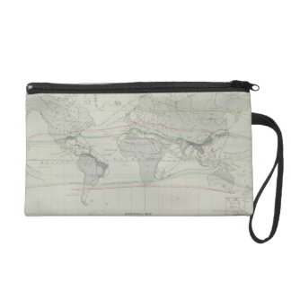 Map of the World 13 Wristlet