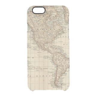 Map of the World 2 2 Clear iPhone 6/6S Case