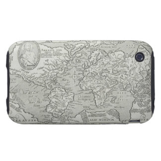 Map of the World 6 Tough iPhone 3 Case