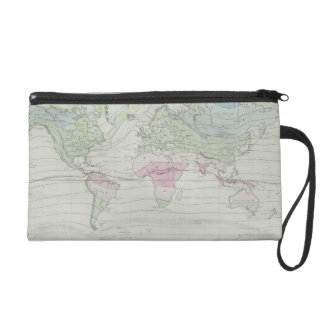 Map of the World 8 Wristlet