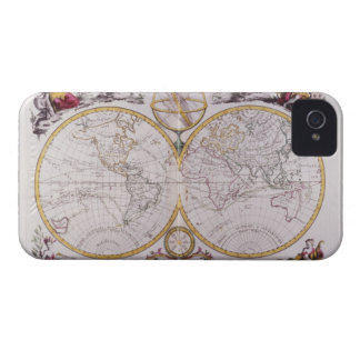 Map of the World iPhone 4 Case-Mate Case