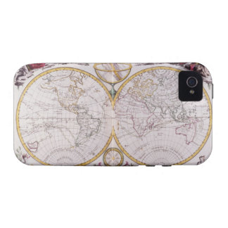 Map of the World iPhone 4 Covers