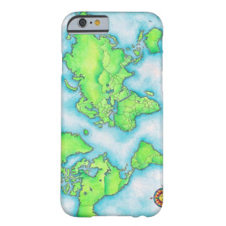 Map of the World iPhone 6 Case