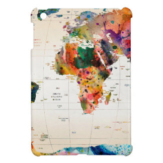 Map of the world cover for the iPad mini