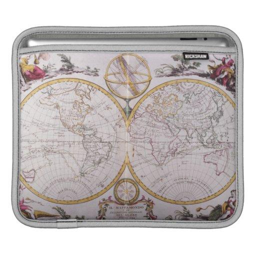 Map of the World iPad Sleeve