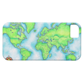 Map of the World iPhone 5 Cover