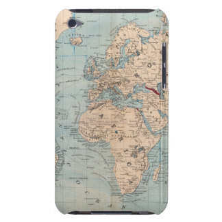 Map of the world on Mercator's projection Barely There iPod Cases