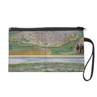 Map of Toledo and Valladolid, from 'Civitates Orbi Wristlet