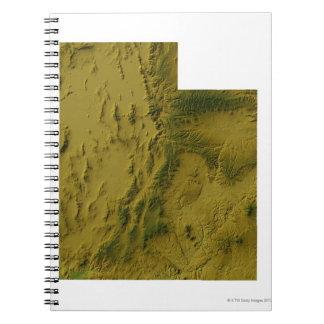 Map of Utah Notebook