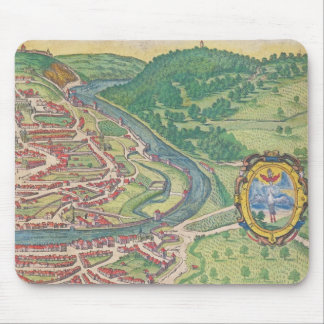Map of Vienna Mouse Pad