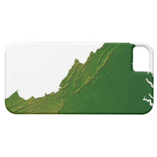 Map of Virginia iPhone 5 Cover