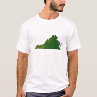 Map of Virginia T-Shirt