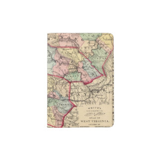Map of Winfield, West Virginia Passport Holder
