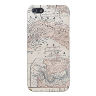 MAP: PANAMA, 1907 iPhone 5 COVER