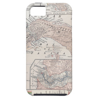 MAP: PANAMA, 1907 iPhone 5 COVERS