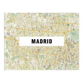 MAP POSTCARDS ♥ Madrid
