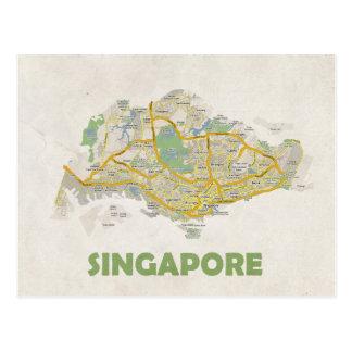 MAP POSTCARDS ♥ Singapore