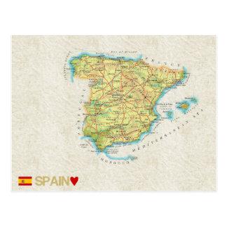 MAP POSTCARDS ♥ Spain