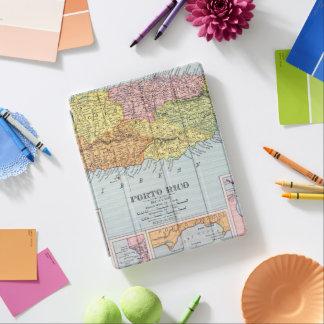 MAP: PUERTO RICO, 1900 iPad COVER
