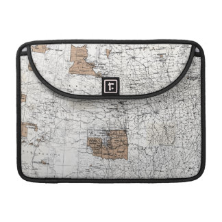 MAP: RESERVATIONS, 1888 MacBook PRO SLEEVES