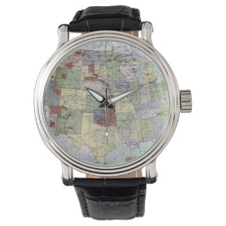 MAP: RESERVATIONS, 1892 WRISTWATCHES
