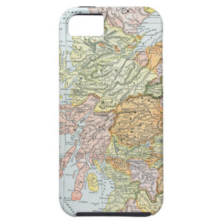 MAP: SCOTLAND iPhone 5 COVERS