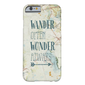 Map Sentiments Barely There iPhone 6 Case