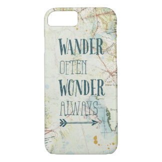Map Sentiments iPhone 8/7 Case