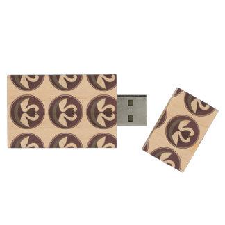 Maple, 8gb, Rectangle LOVE SWANS Wood USB Flash Drive