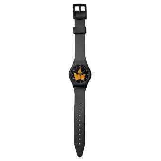 Maple Autumn Leaf Watch