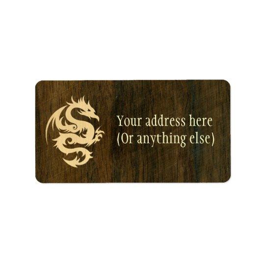 Maple Dragon Label