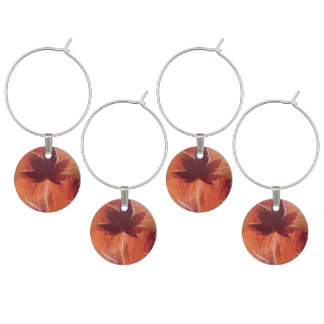 Maple Dream Wine Glass Charms
