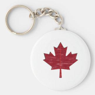 Maple Fever Key Ring