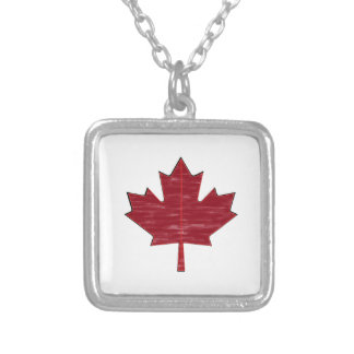 Maple Fever Silver Plated Necklace