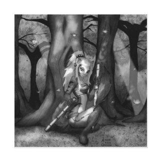 Maple Forest Neko - Canvas Print